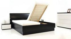 Zvětšit fotografii - postel CLAUDIA výklop - DUB,OKOUME