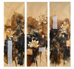 Obraz - Abstrakce květy leknínů