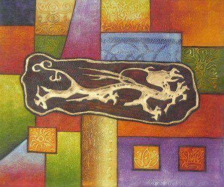 Obraz - Čínský drak III.