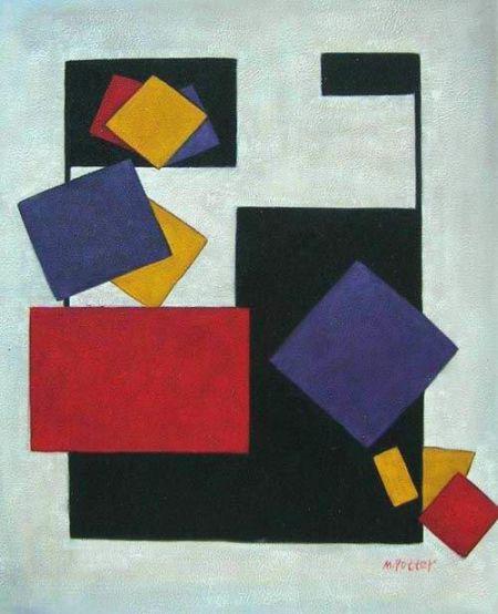 Obraz - Čtverce I.