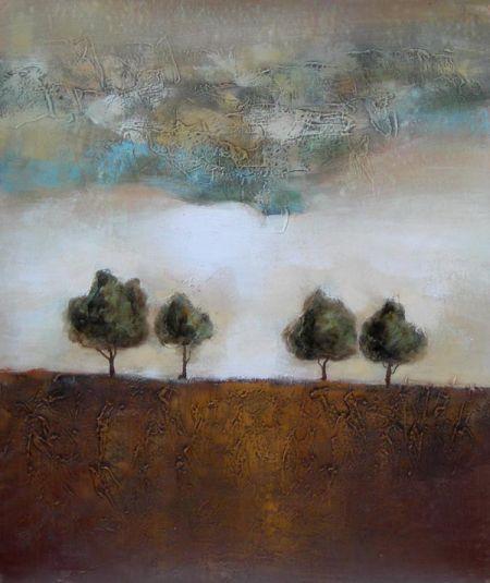 Obraz - Čtyři stromy