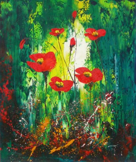 Obraz - Květy v pralese