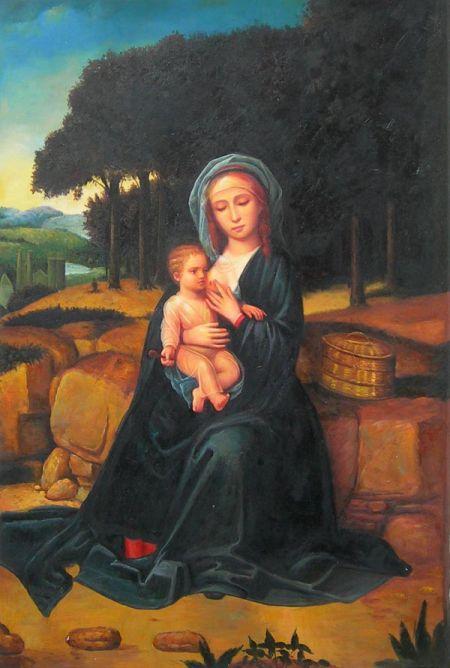 Obraz - Náboženský motiv XI.