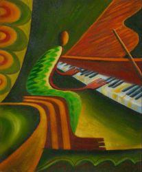 Obraz - Pianista
