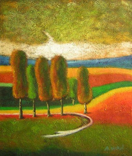 Obraz - Podzimní úsvit