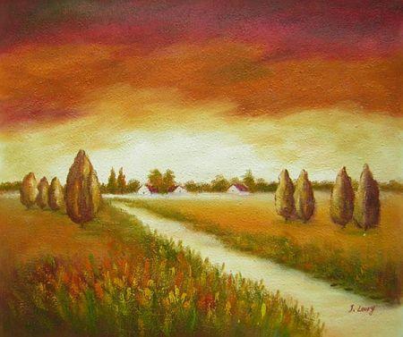 Obraz - Polní cesta