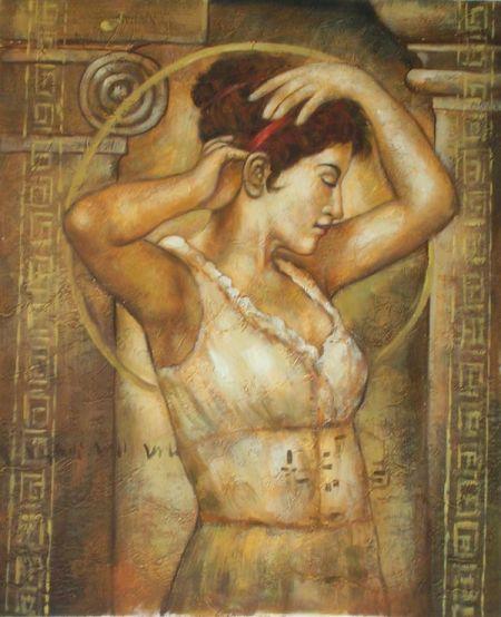 Obraz - Řecká dáma