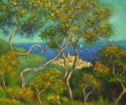 Obraz - Stromy na pobřeží