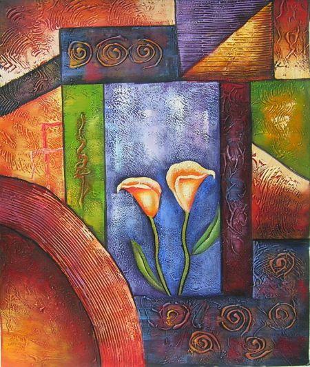 Obraz - Tancující květy