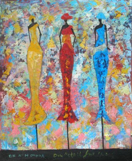 Obraz - Tři ženy