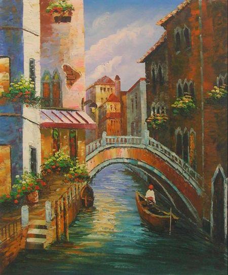 Obraz - Ve stylu Benátských ulic