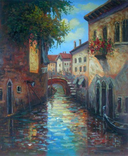 Obraz - Ve stylu Benátských ulic II.