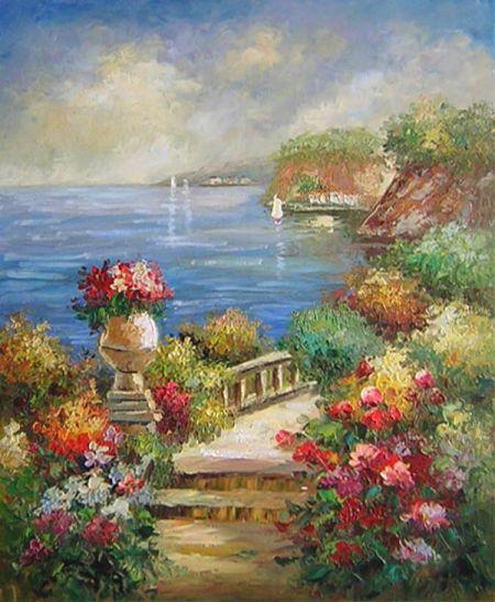 Obraz - Zahrada u moře