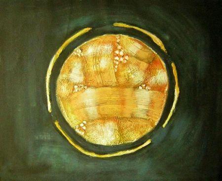 Obraz - Zlatá planetka