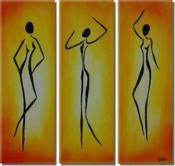 Obrazový set - Tančící Egypťanky