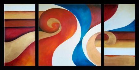 Obrazový set - Vlající trikolora