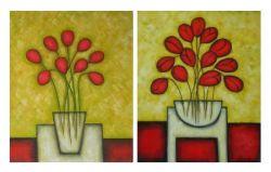 Obrazy - Květiny ve váze