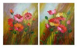 Obrazy - Luční květy