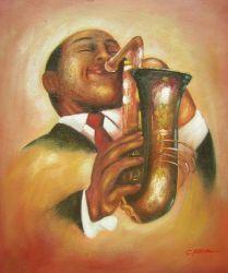 Obraz - Jazzman II