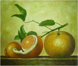 Obraz - Zátiší pomeranče