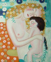 Obraz - Žena objímající dítě