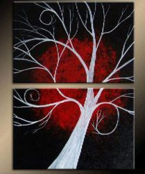 Obrazový set - Vysoký strom