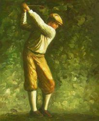 Obraz - Golfista