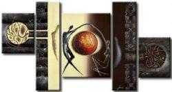 Obrazový set - Měsíční lidé