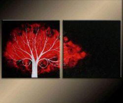Obrazový set - Široký strom