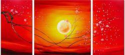 Obrazový set - Zářící slunce