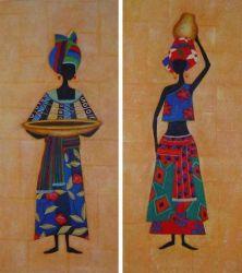 Obrazový set - Africké ženy