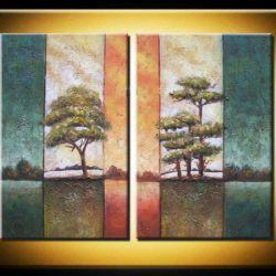 Obrazový set - Listnaté stromy