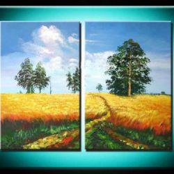 Obrazový set - Polní cesta