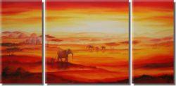 Obrazový set - Sloni v jitru