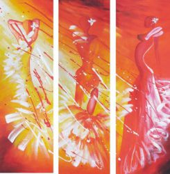 Obrazový set - Tanečnice