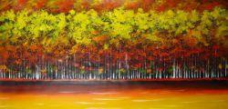 Obraz - Zlatý podzimní les