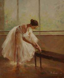 Obraz - Nádherná baletka