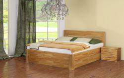 postel ANETA - jádrový buk, výklop
