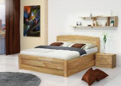 postel SONATA - jádrový buk výklop