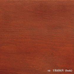 vyk - 12 TŘEŠEŇ (buk)  - postel LADA - jádrový buk, výklop