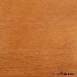 vyk - 15 KOŇAK (buk)  - postel LADA - jádrový buk, výklop