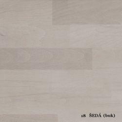 vyk - 18 ŠEDÁ (buk)  - postel LADA - jádrový buk, výklop