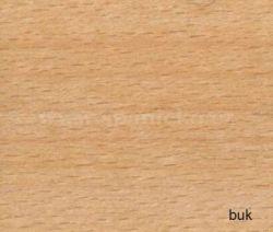 pb - buk přírodní  - noční stolek závěsný č.11