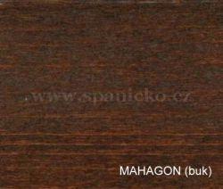 pb - MAHAGON (buk)  - postel LILI - buk  ///  sleva-20%