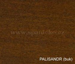 pb - PALISANDR (buk)  - postel ELA - buk