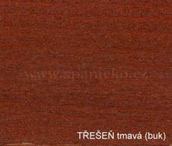 pb - TŘEŠEŇ tmavá (buk)  - postel LILI - buk  ///  sleva-20%