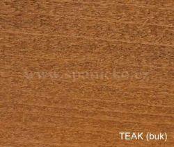 pb - TEAK (buk)  - postel LILI - buk  ///  sleva-20%
