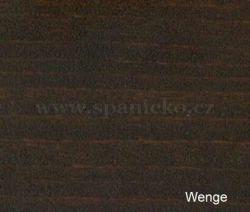 pb - WENGE (buk)  - postel LILI - buk  ///  sleva-20%
