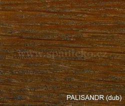 p - PALISANDR (dub)  - postel BIRGIT - dub