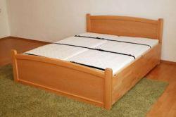 sklopná postel KLASIK - buk : 161 - 180x200cm / vyklápění z čela